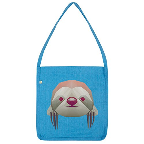 Twisted Envy Twisted Envy Blue Tote Bag Geometric Sloth rPxrwq