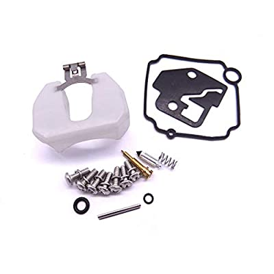 Boat Engine 3V1-87122-0 3V1871220 3V1871220M Carburetor Repair Kit for Tohatsu Nissan Outboard Motor 4-Stroke 8HP 9.8HP MSF8A MSF9.8A NSF8A NSF9.8A: Automotive
