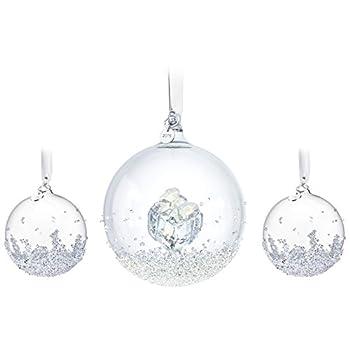 Swarovski Annual Edition 2016 Christmas Ball Ornament, 3-Piece Set