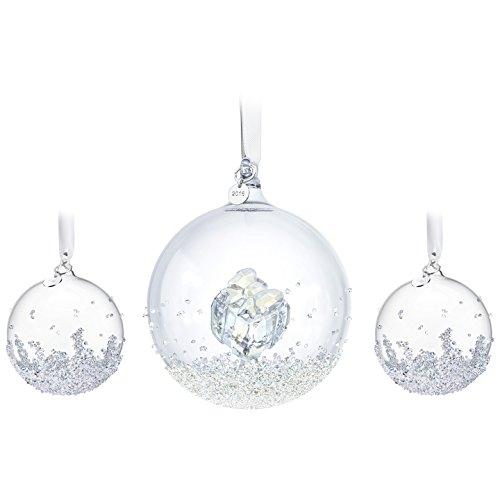 Swarovski Annual Edition 2016 Christmas Ball Ornament, 3-Piece Set by Swarovski