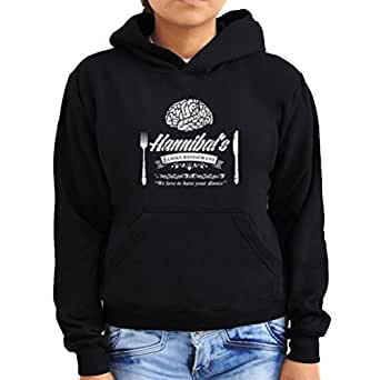 Hannibal's Family Restaurant we love to have your dinner Women Hoodie