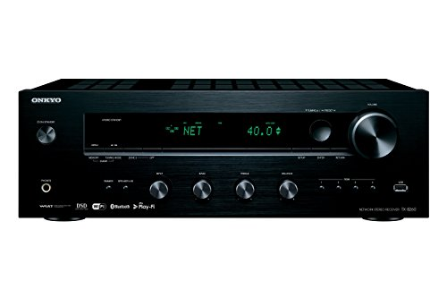 Onkyo Network Stereo Receiver with Built-In Wi-Fi Bluetooth