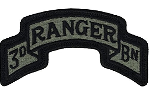 Army Ranger Insignia - 75th Ranger 3rd BN ACU Patch Foliage Green