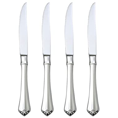 Oneida Julliard Steak Knife Set, Set of 4