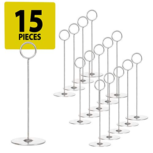 Set of 15 Place Card Holders - 8