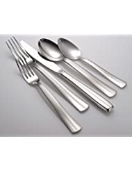 Liberty Tabletop Cedarcrest 65 Piece 18 10 Flatware Set Includes Serving Pieces Made In USA