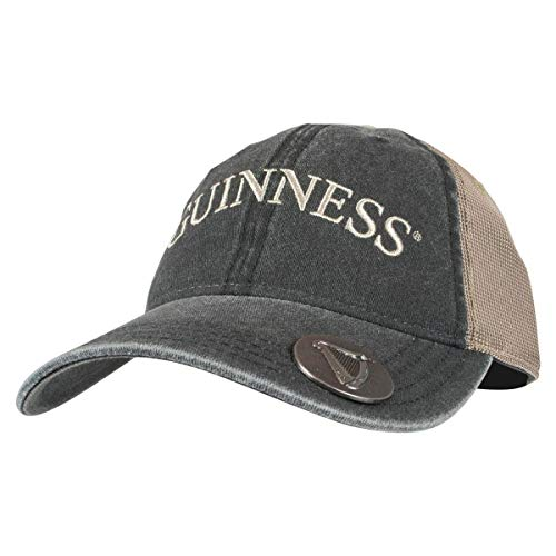 - Guinness Olive Grey Adjustable Baseball Cap with Bottle Opener