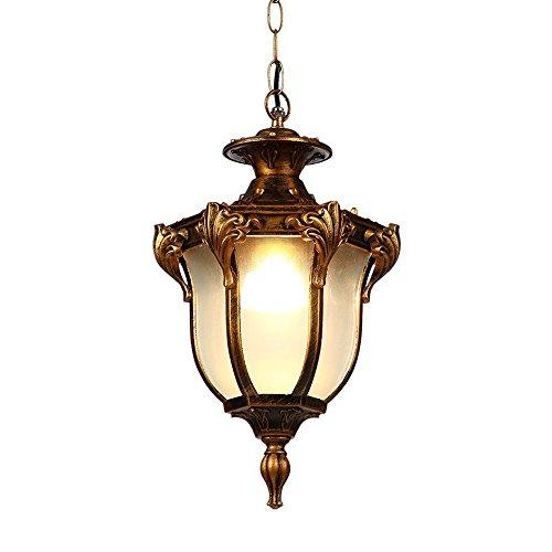 Outdoor Pendelleuchten Wasserdichte Lampe Vintage Patio Pavillon Einfache  Loft Garden Korridor Kronleuchter Europäische Außen Hängeleuchten Für ...