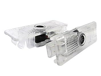 Plafoniere Per Auto A Led : Kit luci led logo proiettori auto portiere bmw e senza