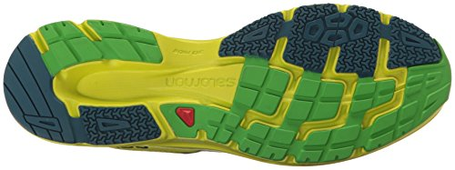 Salomon Sonic Aero, Scarpe da Trail Running Uomo Verde (Lime Green/Lime Punch/Classic Green)