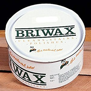 Briwax (Ebony) Furniture Wax Polish, Cleans, stains, and polishes.