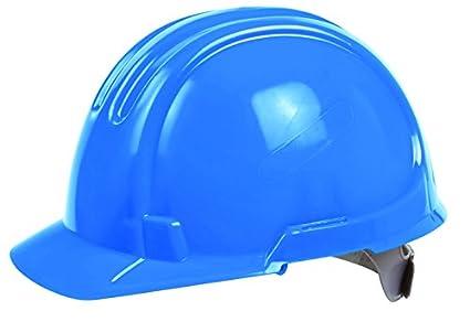 Buey ox-s245003 estándar casco de seguridad, color azul