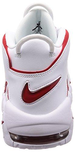 Zapatillas Blanco More Nike Talla rojo Air 45 Uptempo blanco ´96 r1WrPn7O