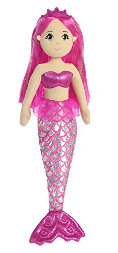 Aurora World Sea Sparkles Garnet Mermaid