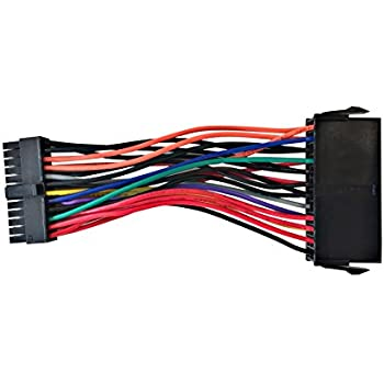 Eyeboot ATX PSU 24 Pin Female to Small 24 Pin Male Power Cable For DELL 780 980 960 PC