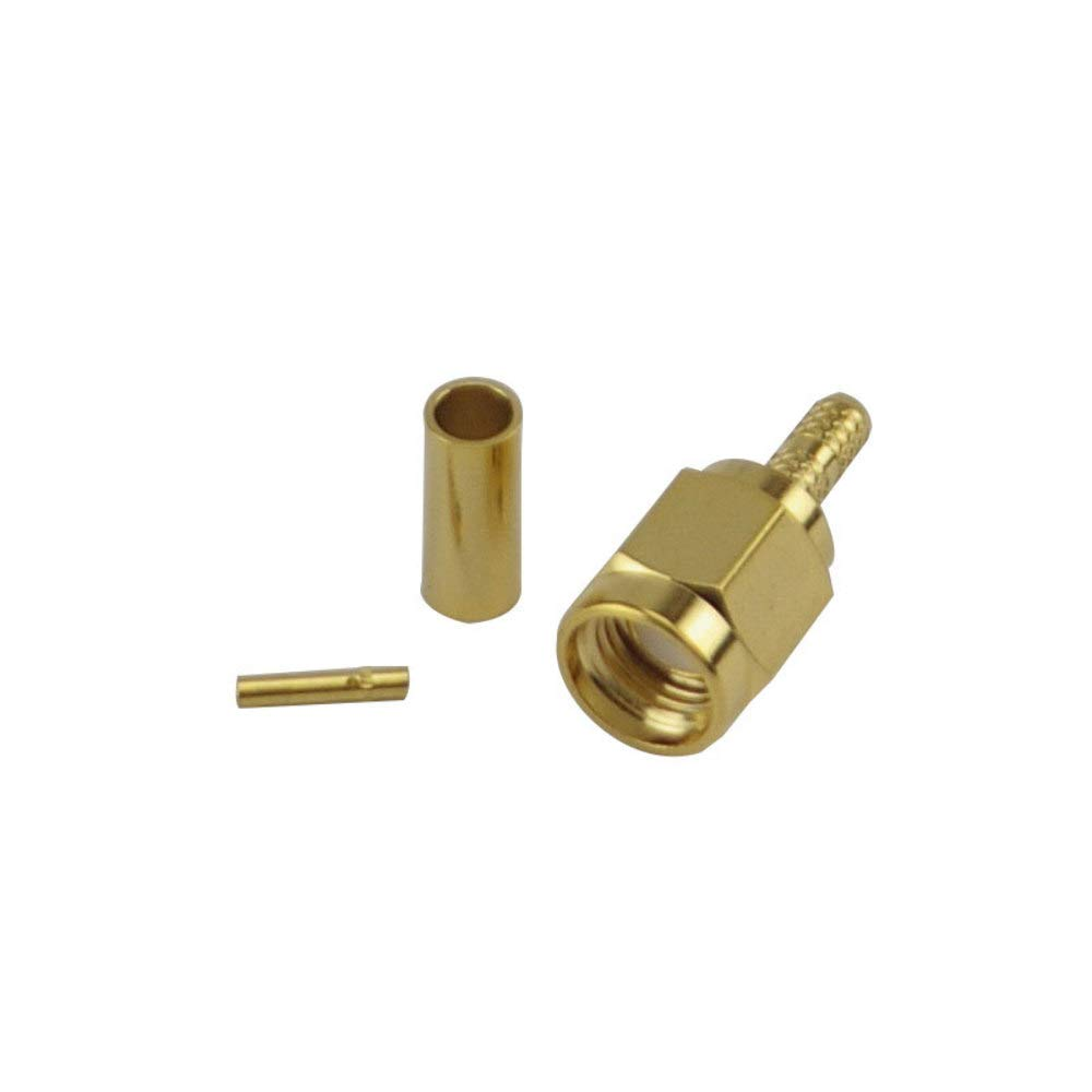 RP SMA Male Crimp Connector - RG316/RG174 Wifi-Antennas