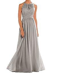 VaniaDress Women Halter Sleeveless Long Evening Dress Formal Gowns V266LF
