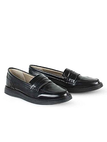 Wills Vegan Shoes Loafers black