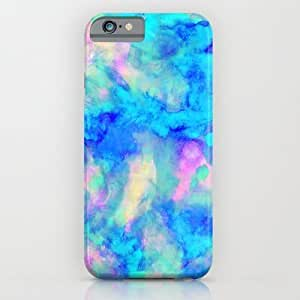 Society6 - Electrify Ice Blue iPhone 6 Case by Amy Sia