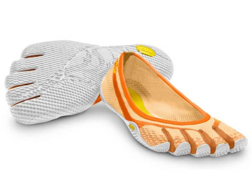 Vibram Fivefingers Toe Shoe 13w0305entrada Orange / White Eu 36