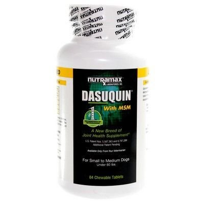 Dasuquin w/MSM Chwble Tablets S to M Dogs 84 Ct, My Pet Supplies