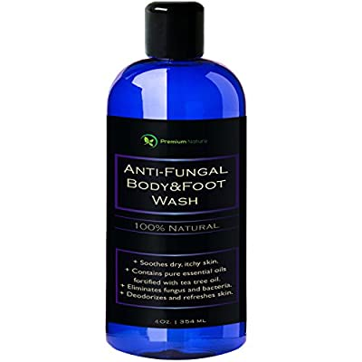 Anti-Fungal Body & Foot Wash 4 oz by Premium Nature