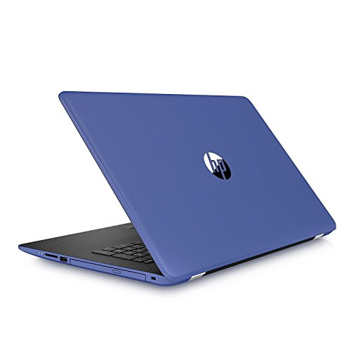 HP High Performance 17.3 inch HD+ Backlit Keyboard Laptop Notebook PC, Intel Core i3-7100U Dual-Core, 8GB DDR4, 2TB HDD, DVD RW, Bluetooth, WIFI, Windows 10 Home, Marine Blue