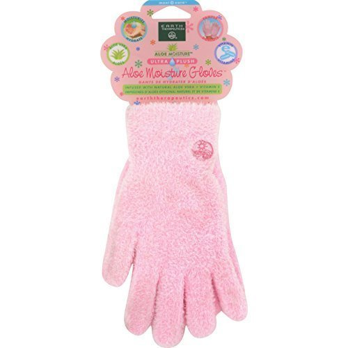 Earth Therapeutics Gloves Aloe Ultra Natural Pair by Earth Therapeutics