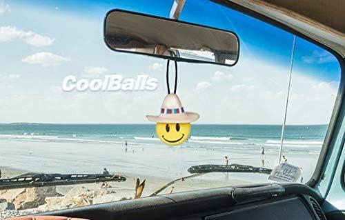 Fits Thick Fat Style Antenna Coolballs Cool Happy Amigo w//Sombrero Car Antenna Topper//Antenna Ball//Auto Mirror Dangler//Desktop Spring Stand Bobble Buddy