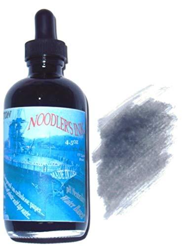 Noodler's Fountain Ink, 4.5 oz Eye Dropper Bottle, Lexington Gray (19804)