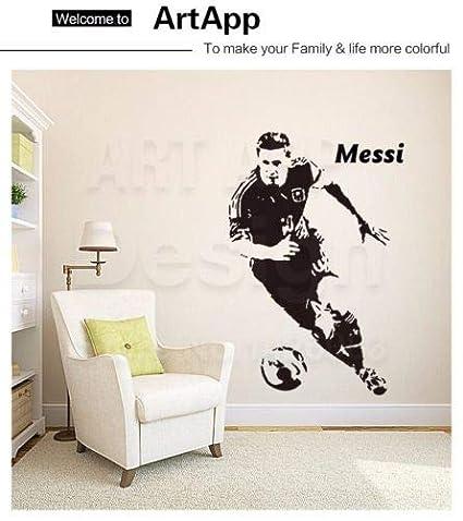 Amazon Com Utopiashi Lionel Messi Barcelona Wall Sticker