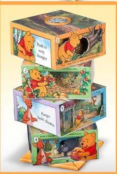Readers Digest Disney Winnie the Pooh Storybook Blocks