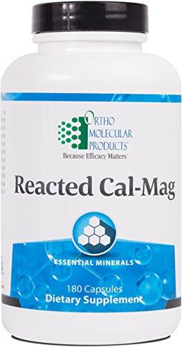 Ortho Molecular - Reacted Cal-Mag - 180 Capsules