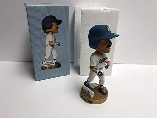 Kirk Gibson ~ WORLD SERIES ARM/FIST PUMP Los Angeles Dodgers 2012 Bobble Bobblehead SGA