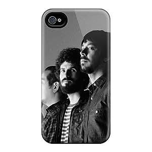 Iphone 4/4s Yix6078UQJh Allow Personal Design Attractive Linkin Park Pattern Excellent Hard Phone Case -AnnaDubois