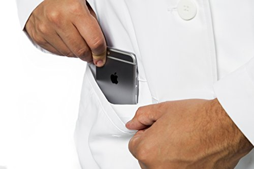SCOTTeVEST Men's Lab Coat - 16 Pockets - Medical Uniform, Pickpocket Proof XL by SCOTTeVEST (Image #3)'