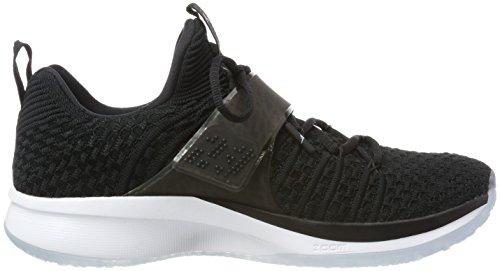 Nike Trainer Flyknit Scarpe Da Jordan nero 010 bianco Uomo Ginnastica 2 Nero Nere twX4S4qYxa