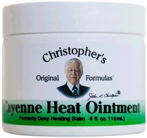 Cayenne Heat Ointment 4 fl. oz by Christophers Original Formulas