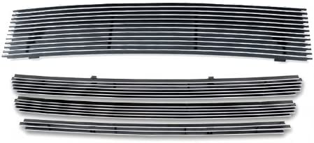 APS Compatible with 2009-2014 Nissan Cube Billet Grille Grill Insert Combo N81006A