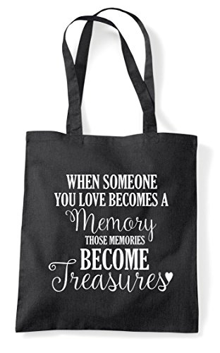 Black Statement Bag When A Shopper Someone Becomes Tote Loves Memory You HvRqPxF