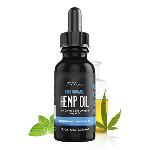 LUVV-Drops-Organic-Hemp-Oil-Calming-Vegan-Omega-3-6-Fatty-Acids-Cold-Pressed-Plant-Based-Extract-Naturally-Support-Heart-Joint-Brain-Skin-Vision-Health-Peppermint-Flavored-Liquid-Black