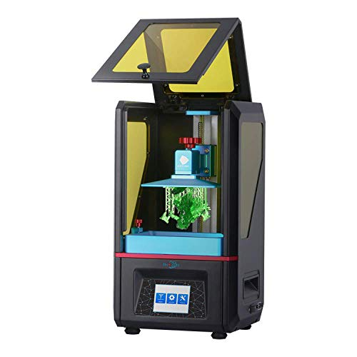 3 idea Imagine Create Print Anycubic Photon UV Photocuring Ultra Precision 2560×1440 2K HD Masking LCD 3D Printer with Smart Touch Color Screen Off-line Print and UK Plug (Basic Accessories)