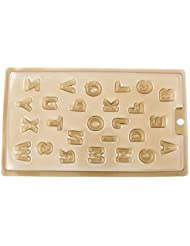 100 PCS Chocolate Molds Baby Shower Candy Making Supplies Jelly Maker Wholesale ZY084 Letters