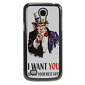 NEW I WANT YOU Pattern Aluminum&Plastic Hard Back Case Cover for Samsung Galaxy S4 Mini I9190