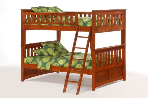 Night & Day Ginger Full Over Full Bunk Bed Cherry Review
