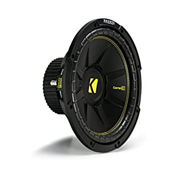 Amazon.com : Kicker 10C124 Comp 12-Inch Subwoofer 4 SVC
