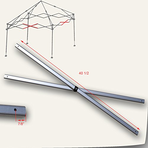 Weekender Canopy - Quik Shade Weekender Elite 10' x 10' Canopy MIDDLE TRUSS Bar Replacement Part