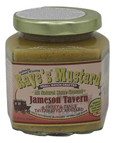Raye's Jameson Tavern All Natural Stone Ground Mustard made in Maine