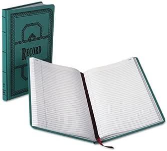 Libro de contabilidad, record-ruled, 300 páginas, 12 – 1/2