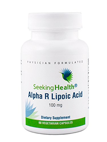 Alpha R Lipoic Acid | Provides 100 Mg of Natural Alpha R-Lipoic Acid | 60 Easy-To-Swallow Vegetarian Capsules | Seeking Health